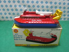 Vintage - HOVERCRAFT  SRN6        -  Dinky toys  290   Mint in Box