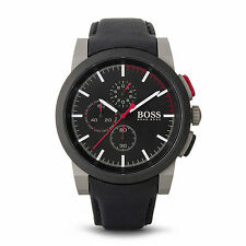 Hugo Boss Watch 1512979 Men's Chronograph Nylon Black Wrist Watch Analog Quartz