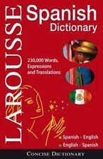 Larousse Concise Dictionary: Spanish-English / English-Spanish by Larousse Staff