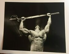 """FREE SHIPPING! Vintage 1988 photo RICHARD PLOWRIGHT male nude """"We Shall Conquer"""""""
