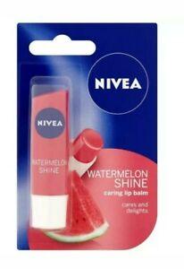 1x  Nivea Fruity Shine Watermelon Lip Balm 4.8g, Caring Lip Balm