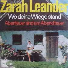 "7"" 1969 RARE MINT- ! ZARAH LEANDER Wo Deine Wiege stand"