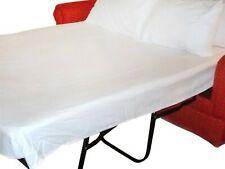 Superb Sleeper Sofa Bed Sheet Set 1000tc Egyptian Cotton White Solid Full Size