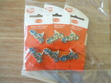 Sydney 2000 Olympic pins x 6 Harley Davison motorbike with moving wheels on card
