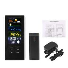 Wireless Digital Weather Station Indoor/Outdoor Forecast Temperature Humidity