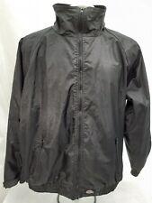 Mens Dickies Black Waterproof Work Coat Bomber Jacket Size L Large
