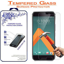 For HTC One M10 10 Premium HD [Tempered Glass] Screen Protector Film
