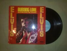ELVIS PRESLEY BURNING LOVE LP (EX) 1972 (RCA CAMDEN INTS 1414)