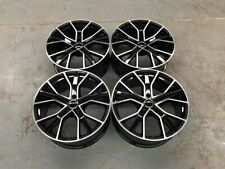 "20"" Audi RS6 Performance Style Wheels Gloss Black Machined A4 A5 A6 A7 A8 5x112"