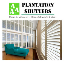 Plantation Shutters Melbourne - Supply & Fully Installed