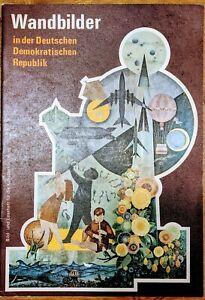 Wandbilder DDR 1973 Sammlung für Schüler Kunst Betrachtung Unterricht Propaganda