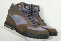 Nike 930507 Brown Suede Outdoor Hiking Trail High Top Boots Women's US 8