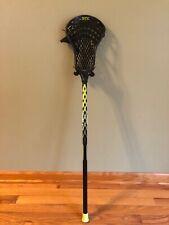 Youth lacrosse Stick Black Stx Stallion 6000 40.5 In