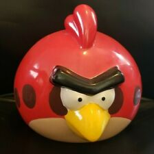 Angry Bird Piggy Bank Collectable 2009-2012 with plug Video Game Merch angrybird