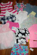 NWT Girls 24m 24 MONTHS Huge 17 Piece Spring Summer Lot Sets Dresses Pjs