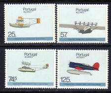 Azores sc#366-369 (1987) Aviation History full set OG MNH** (T)