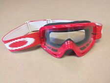 OAKLEY  MOTOCROSS MX GOGGLES PINNED RED