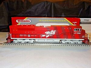 NIB Rare Williams UPHERT-3 SD90 Diesel Locomotive MKT THE KATY Cab #UP 1988