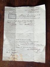 NANCY 1798  lettre de voiture  messagerie  NANCY pour Colmar