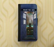 Tardis Bigger on the inside Doctor Who Samsung wallet case iPhone flip case