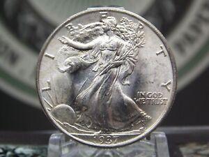 "1937 ""P"" Walking Liberty Half Dollar 50c #1 East Coast Coin & Collectables, Inc."