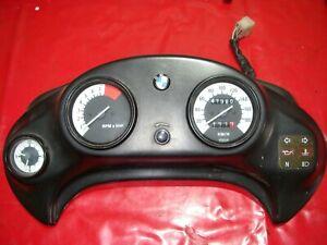 Cockpit 41.980km Tacho Instrumente mit Uhr! 1996,1999 169 BMW F650 ST Funduro