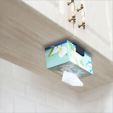 Tissue Box Holder, TFY Kitchen Wall Mount Compatible with Kleenex Facial Tissues