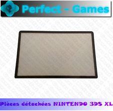 vitre protege ecran haut noir top upper lcd cover mirror black nintendo 3DS XL