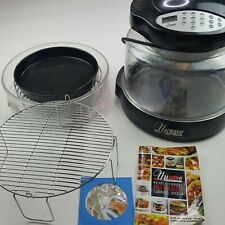 New listing NuWave Pro Infrared Oven Revolutionary Cooking System Model 20355 Black +Extras