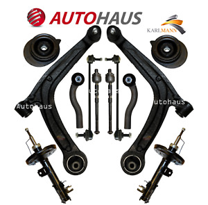 FITS FIAT 500 08-15 FRONT CONTROL ARMS LINKS TRACK RODS MOUNTING KIT & SHOCKERS