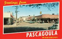 Postcard Greetings from Passcagoula Mississippi