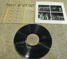 "A Chorus Line ""Original Cast Recording"" LP *Columbia PS 33581* VG to VG+"