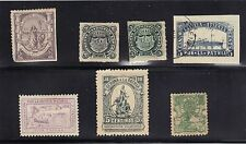 Spain Mexico Spanish American War Charity Stamp Seal Argentina 7 pcs 1898 Maine