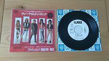 "RARE Brighton Rock We Came To Rock 1986 Japan 7"" Single Insert Classic Rock AOR"