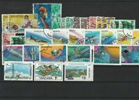 Tanzania Mixed Subject Stamps including Space Ref 24948
