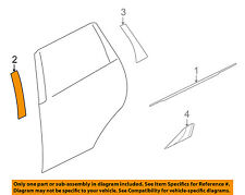 MITSUBISHI OEM 07-13 Outlander Exterior-Rear-Tape Left 7410A081XA