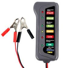 New 12V Digital 6-LED Display Battery Tester  for Car Motorcycle Truck US Stock