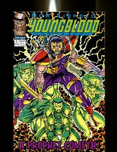 YOUNGBLOOD 2 GREEN VARIANT (9.6) 1ST PROPHET & SHADOWHAWK IMAGE (B026)