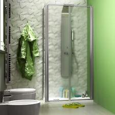 Box doccia 70x90 saloon cristallo opaco altezza 190 h reversibile angolare nuovo