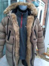 Brave Soul London puffa parka fur detail size large super warm parker A