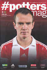 2013/14 STOKE CITY V HULL CITY 29-03-2014 Premiership (Mint)