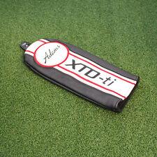 Adams Golf XTD-Ti Fairway Headcover Leather Red&White&Black - NEW