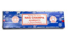 Genuine Satya Sai Baba Nag Champa Incense Sticks 100 Gms Box Of Incense Sticks
