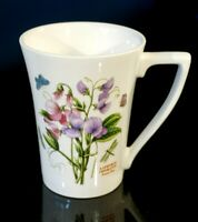 Beautiful Portmeirion Botanic  Garden Mandarin Sweet Pea Mug