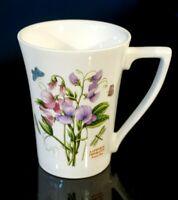 Beautiful Portmeirion Botanic  Garden Mandarin Sweet Pea Mug
