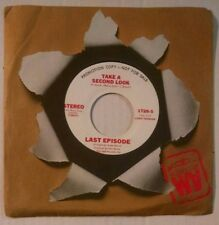 "Last Episode Take a Second Look 7"" 45rpm 1975 Soul Funk Protest A&M 1728 NM"