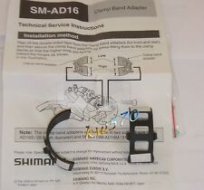 Shimano Front sello adaptador banda de abrazadera calza 34 9mm a 28 6mm
