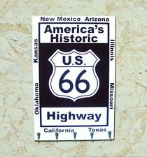 BRAND NEW ROUTE 66 KEY RACK VINTAGE/RETRO