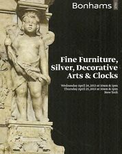 Bonhams Fine Furniture Silver Decorative Arts & Clocks Auction Catalog Apr 2013