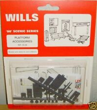 Wills SS68. Platform Accessories. Kit NEW (00 Gauge)